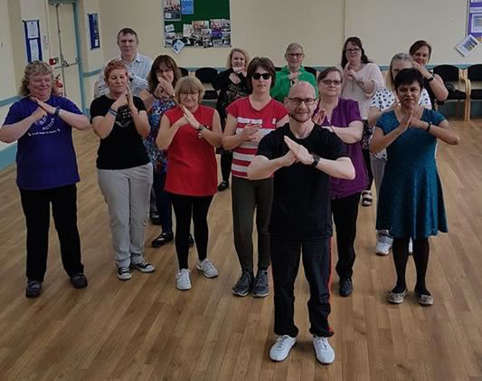 tai chi fibro active group